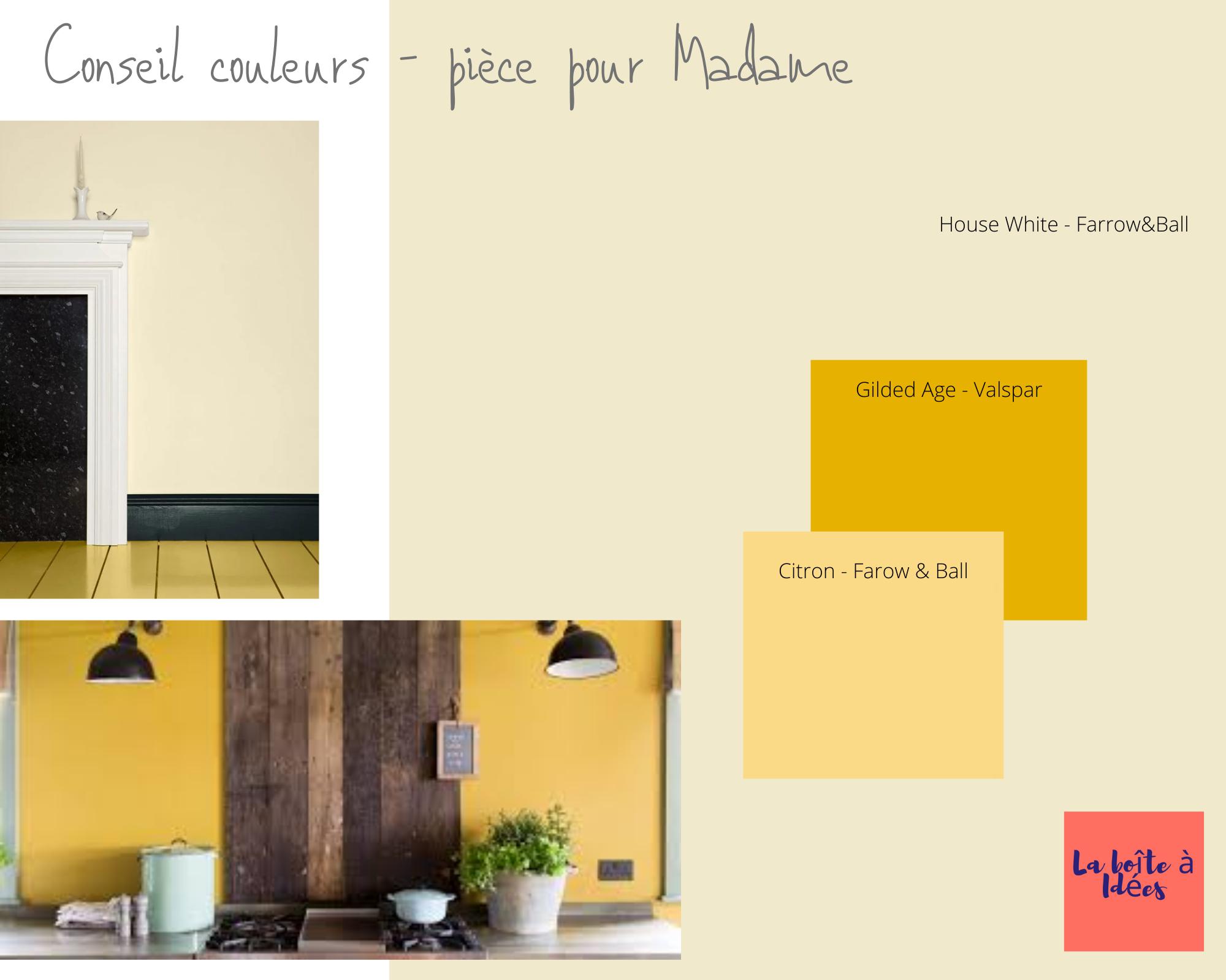 Conseil couleurs :                      3 chambres à Plonéour-Lanvern